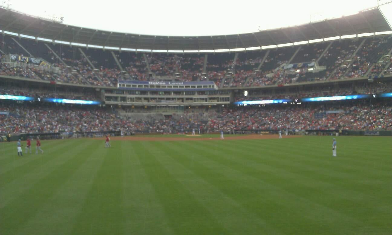 Kauffman Stadium Section Lower Party Porch Row 1 Seat 56