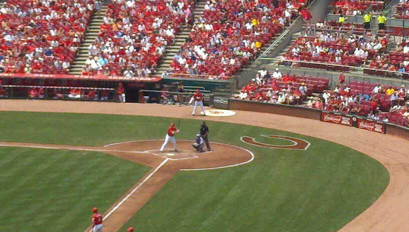 Great American Ball Park Section 410 Row H Seat 1