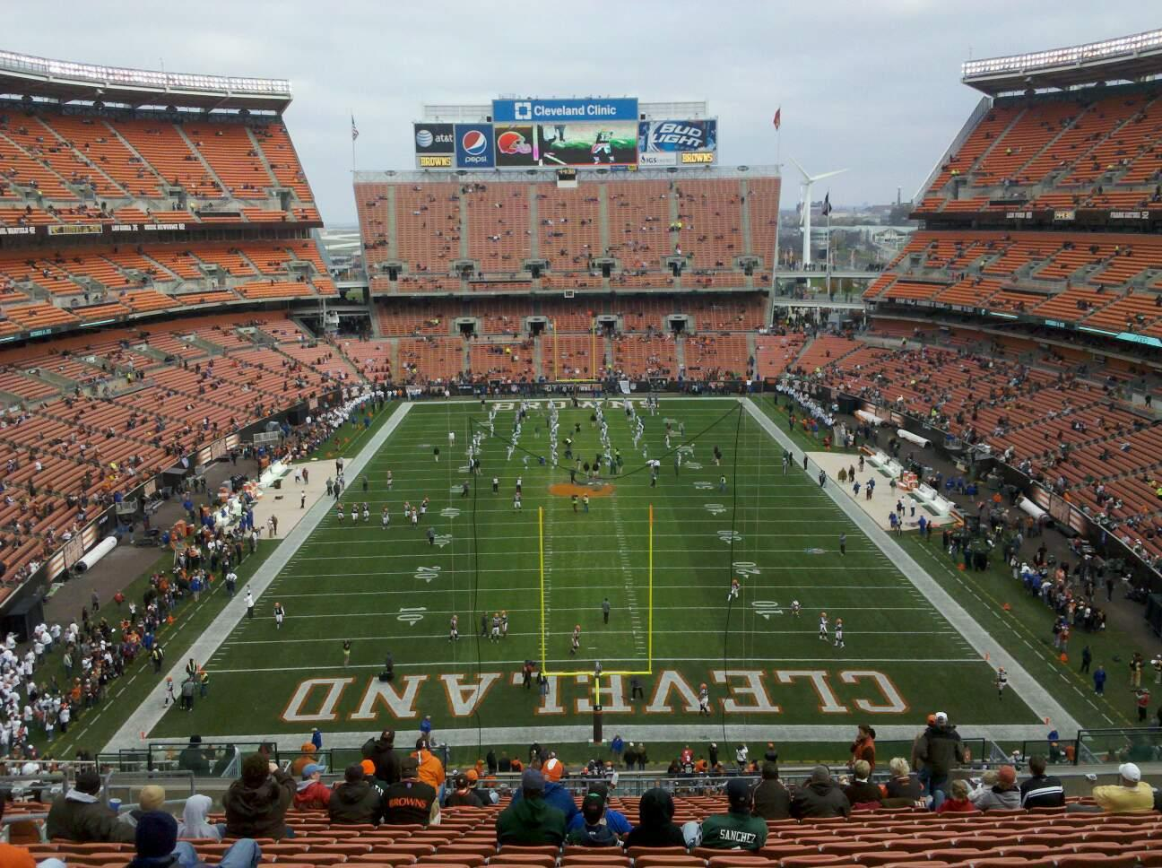FirstEnergy Stadium Section 347 Row 28 Seat 11
