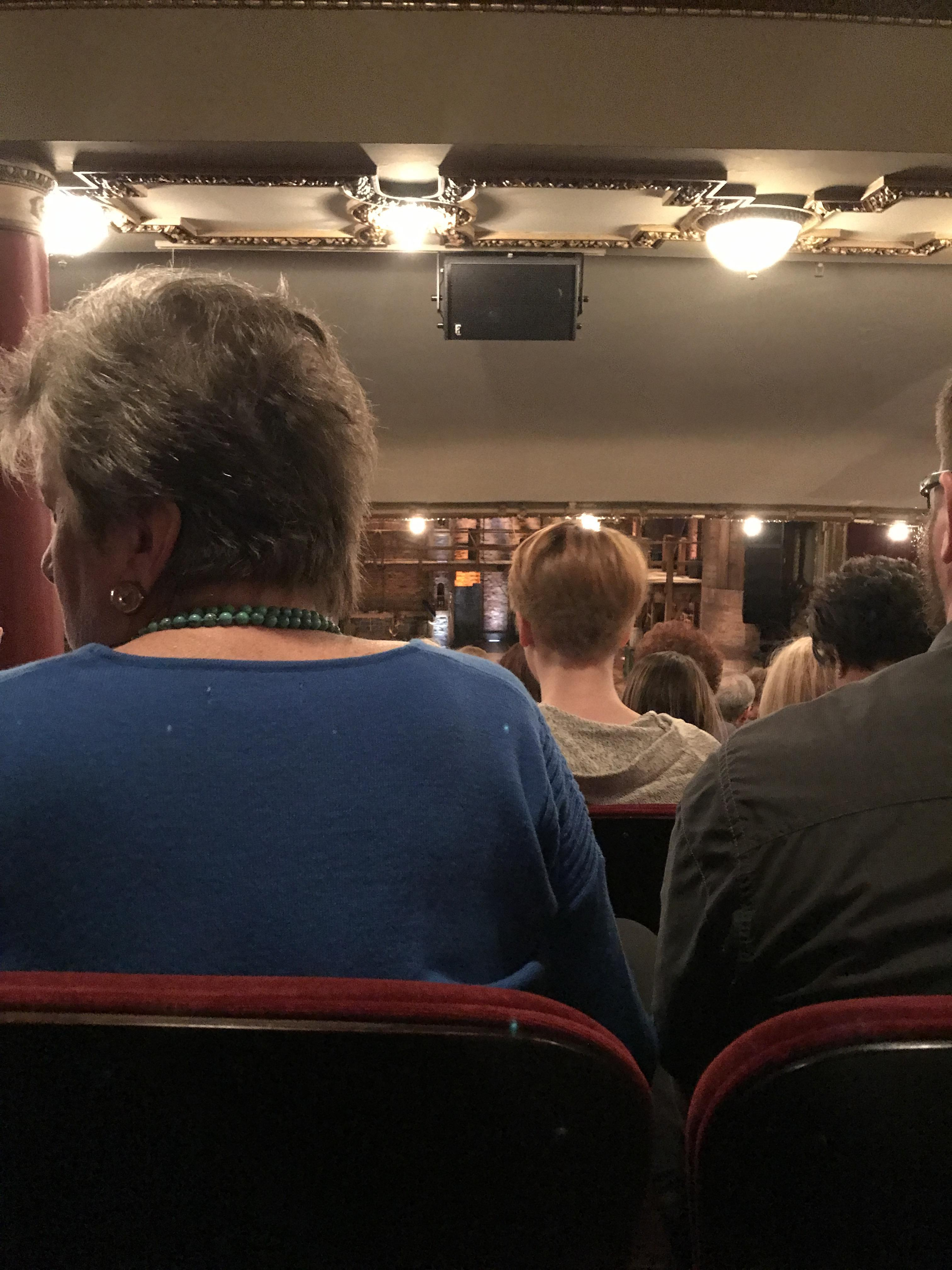 CIBC Theatre Section Dress Circle C Row G Seat 202