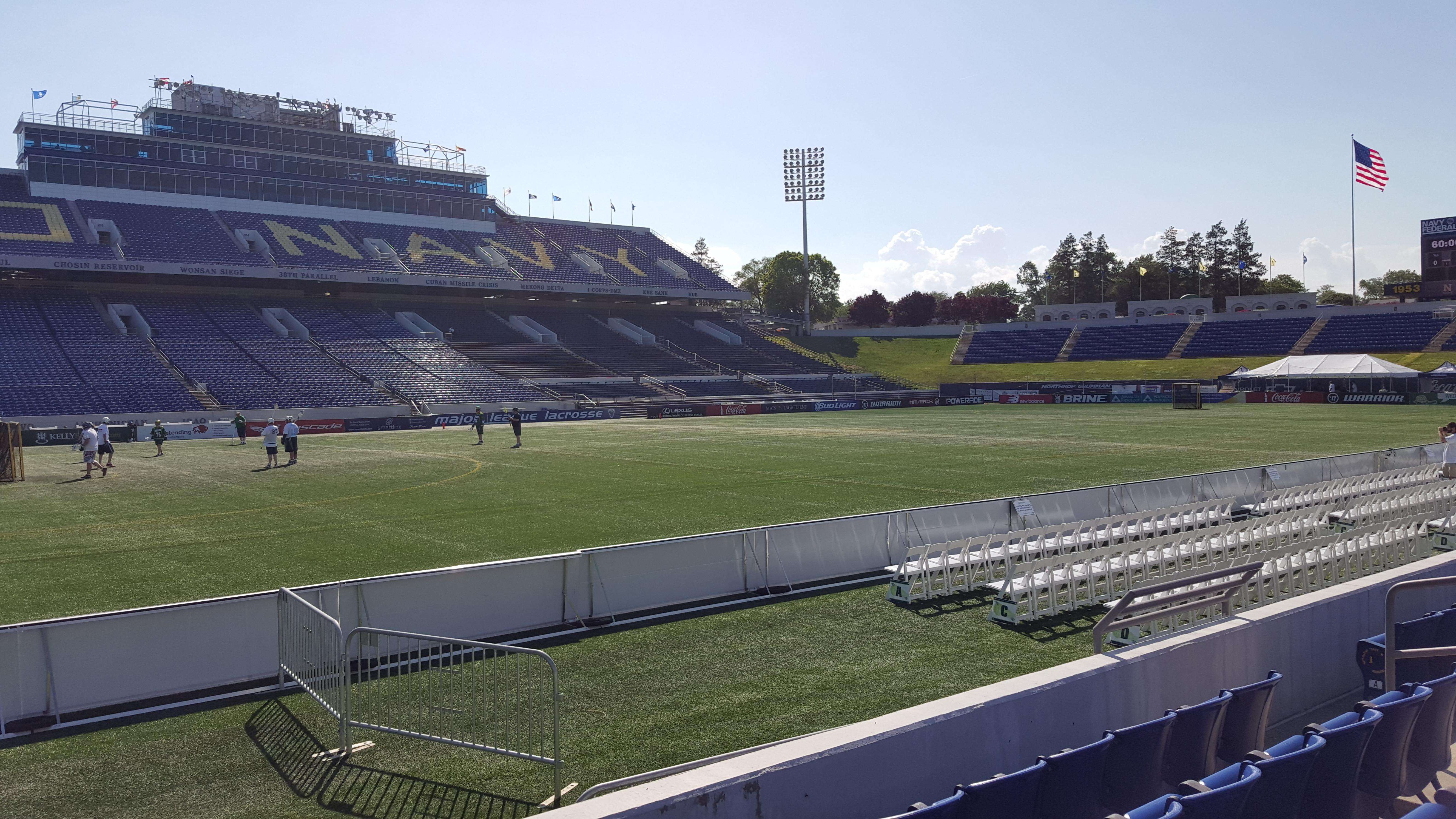 Navy-Marine Corps Memorial Stadium Section 30 Row E Seat 1