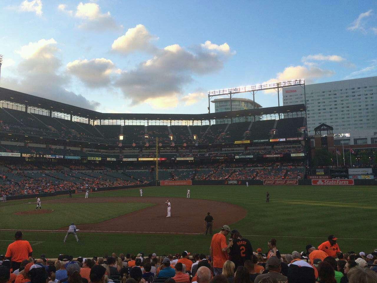 Oriole Park at Camden Yards Section 16 Row 21 Seat 7