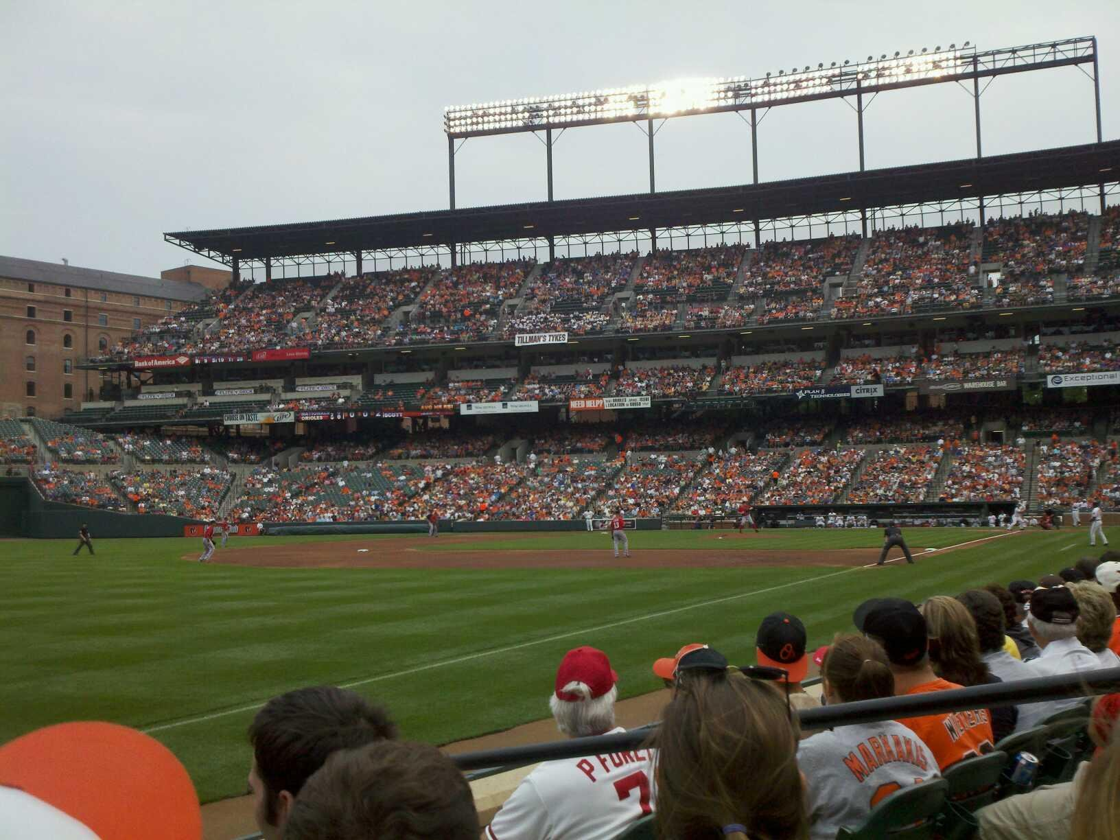 Oriole Park at Camden Yards Section 66 Row 4 Seat 4