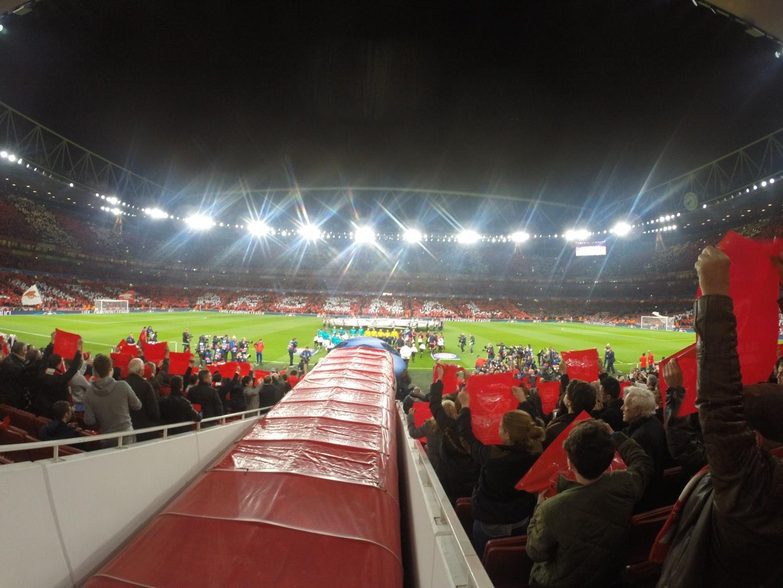 Emirates Stadium Section 32 Row 17