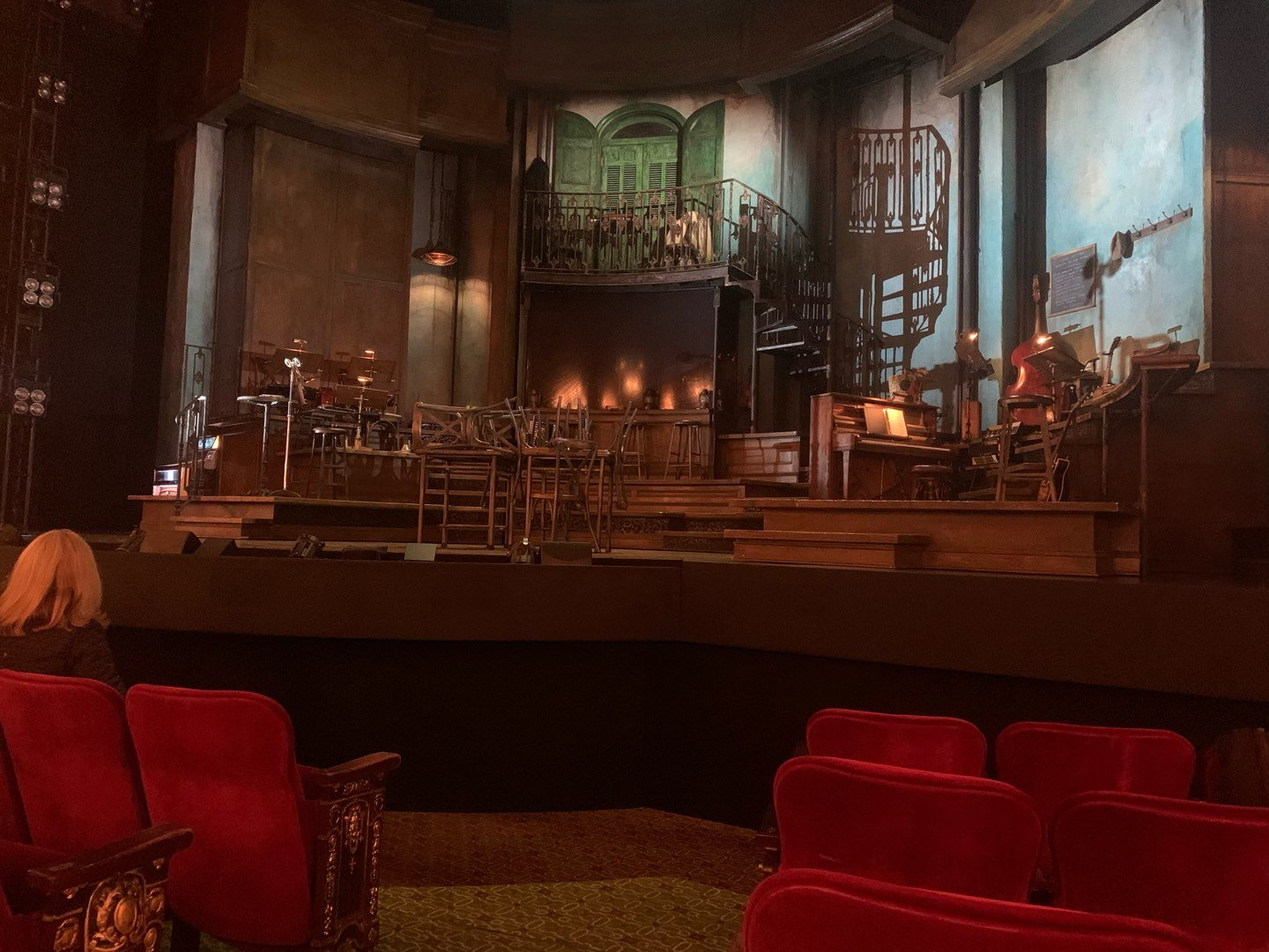 Walter Kerr Theatre Section Orchestra R Row F Seat 2
