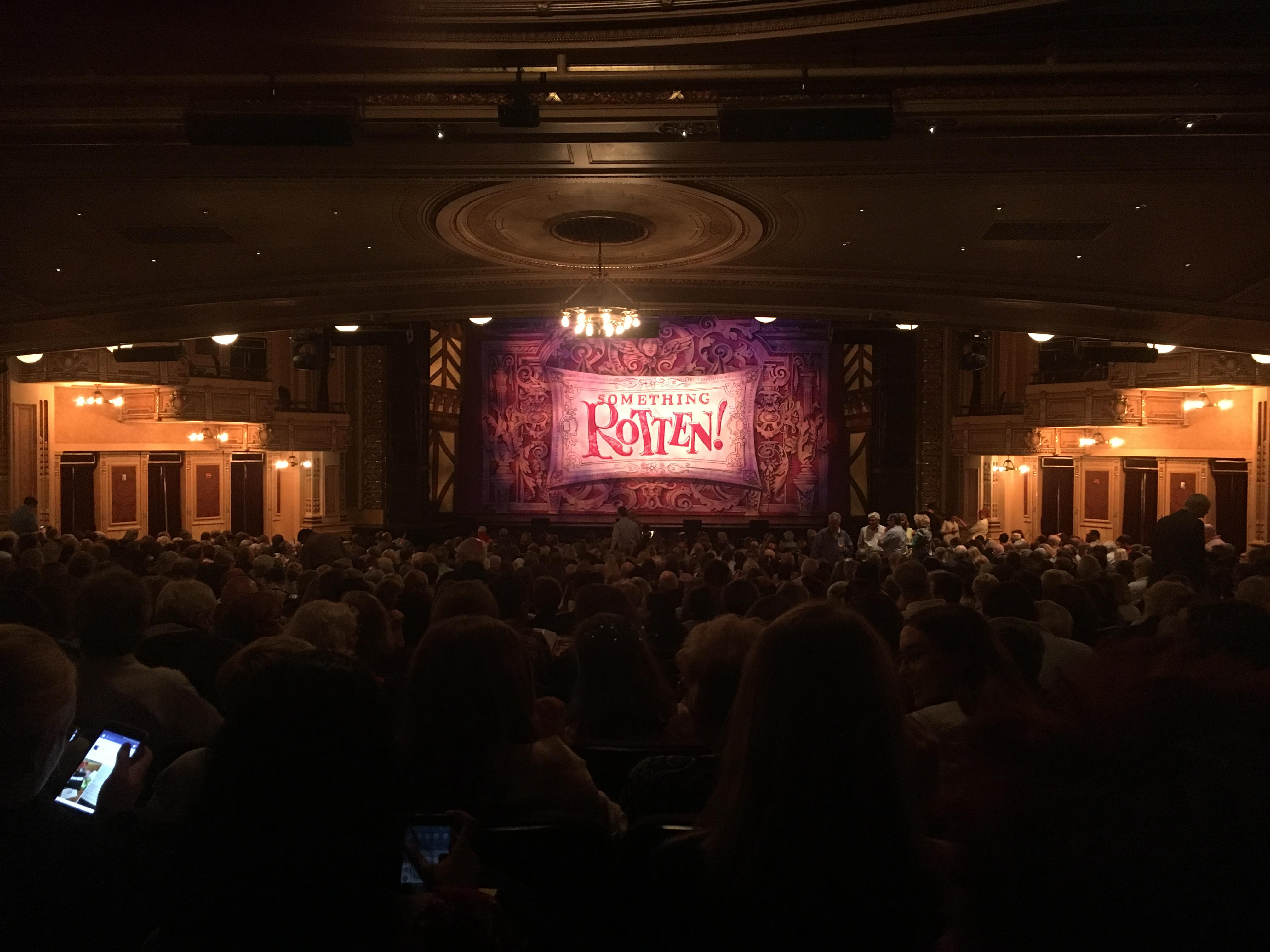 Hippodrome Theatre Section Center Orchestra Row EE Seat 110