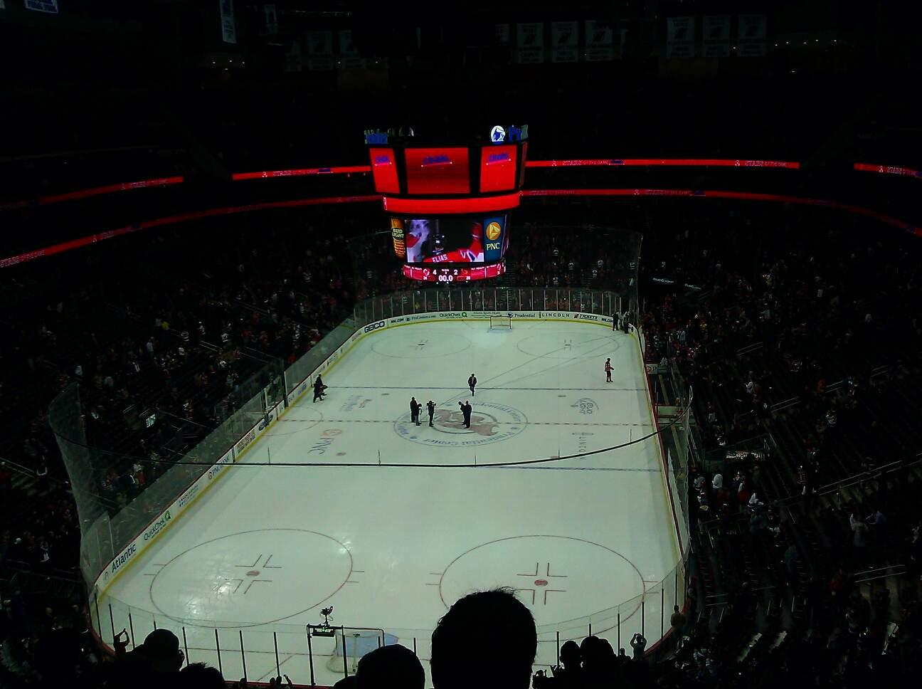 Prudential Center Section 103 Row 9 Seat 8