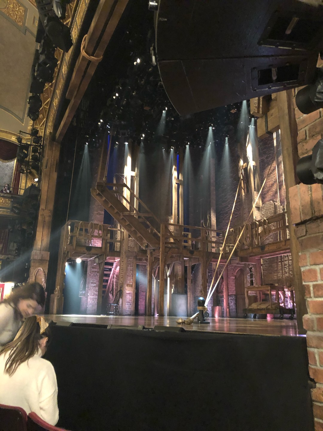 Richard Rodgers Theatre Section Orchestra R Row B Seat 16
