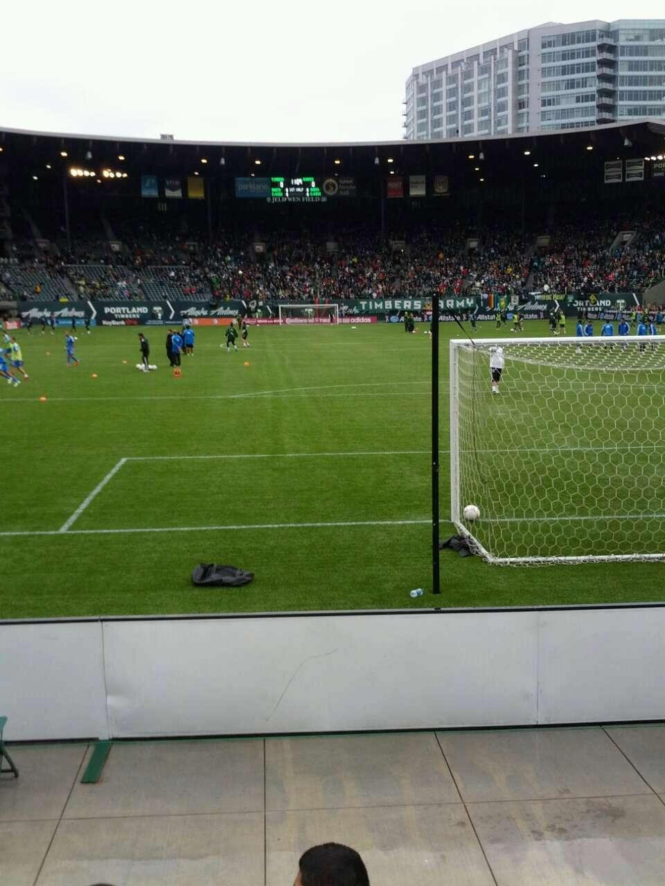 Providence Park Section sd3 Row c Seat 11