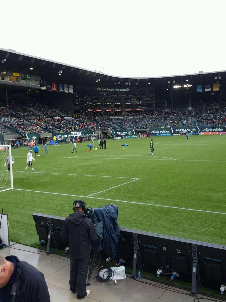 Providence Park Section sd5 Row c Seat 7