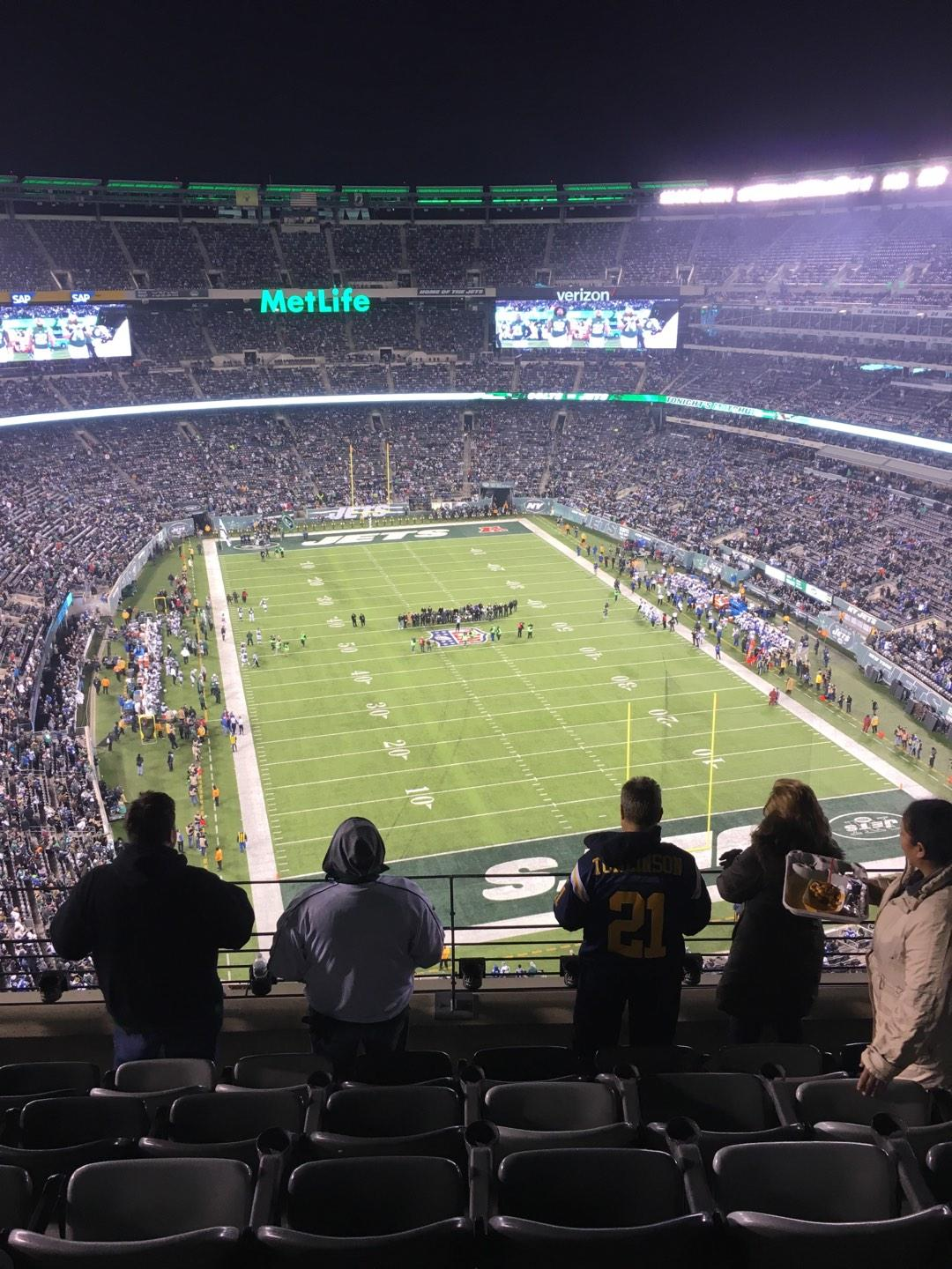 MetLife Stadium Section 303 Row 10 Seat 15
