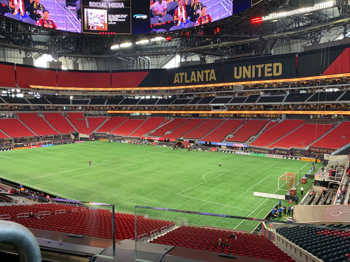 Mercedes-Benz Stadium Section Suite 102 Row 1 Seat 8