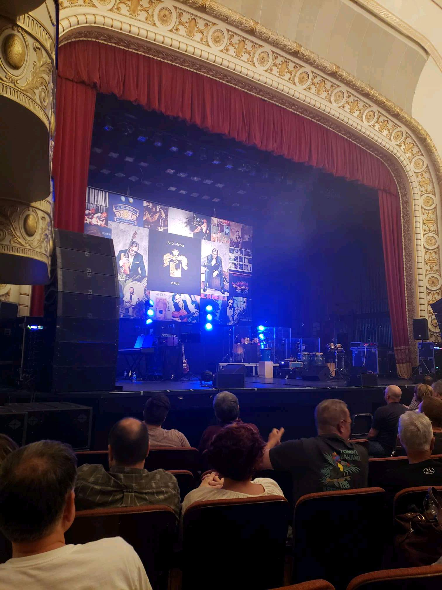 Palace Theatre (Greensburg) Section ORCH Row F Seat 8