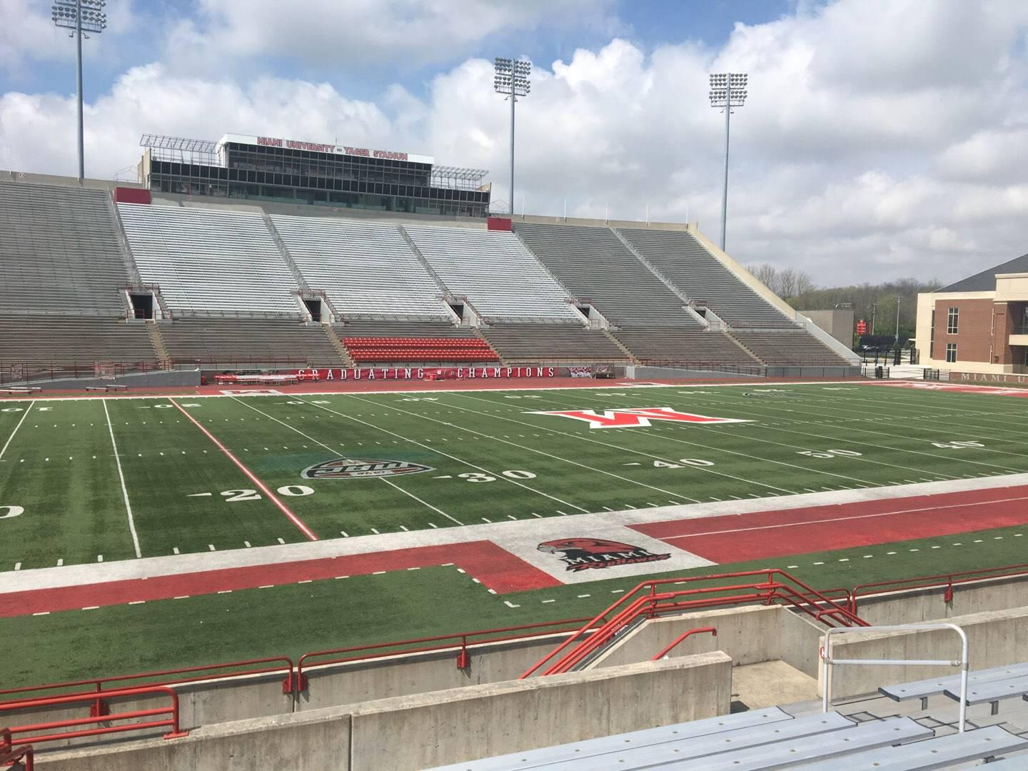 Yager Stadium Section L Row 10 Seat 12