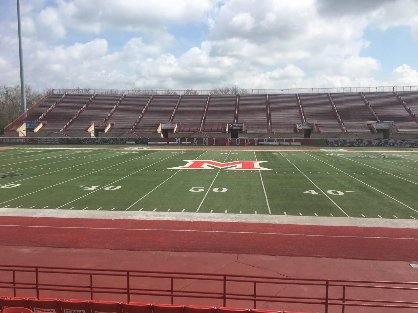 Yager Stadium Section 4 Row 11 Seat 12