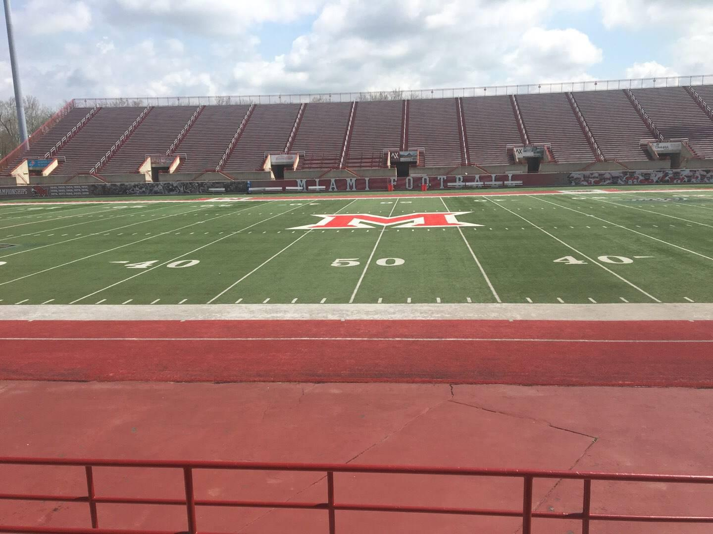 Yager Stadium Section 4 Row 6 Seat 12