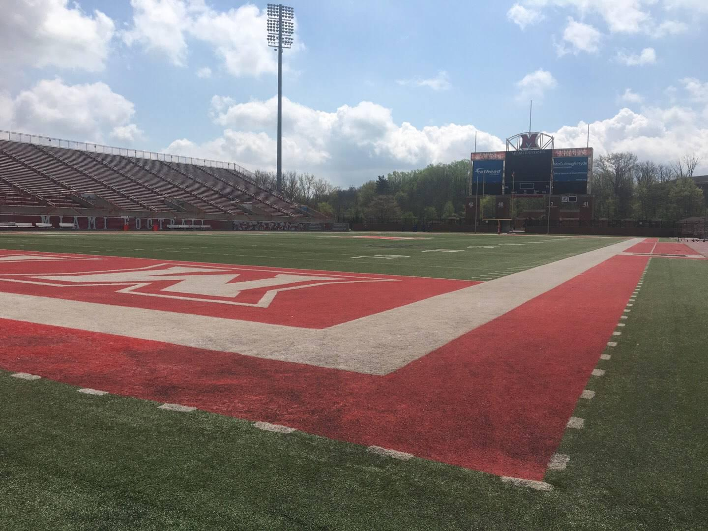 Yager Stadium Section Field