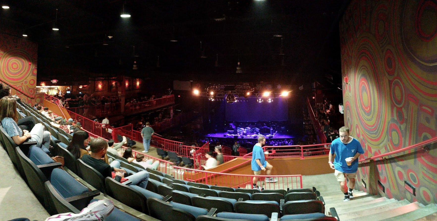 House Of Blues - Boston Section Stadium (STADM) Row F Seat 301
