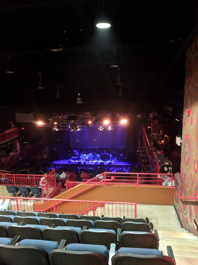 House Of Blues - Boston Section Stadium (STADM) Row F Seat 301