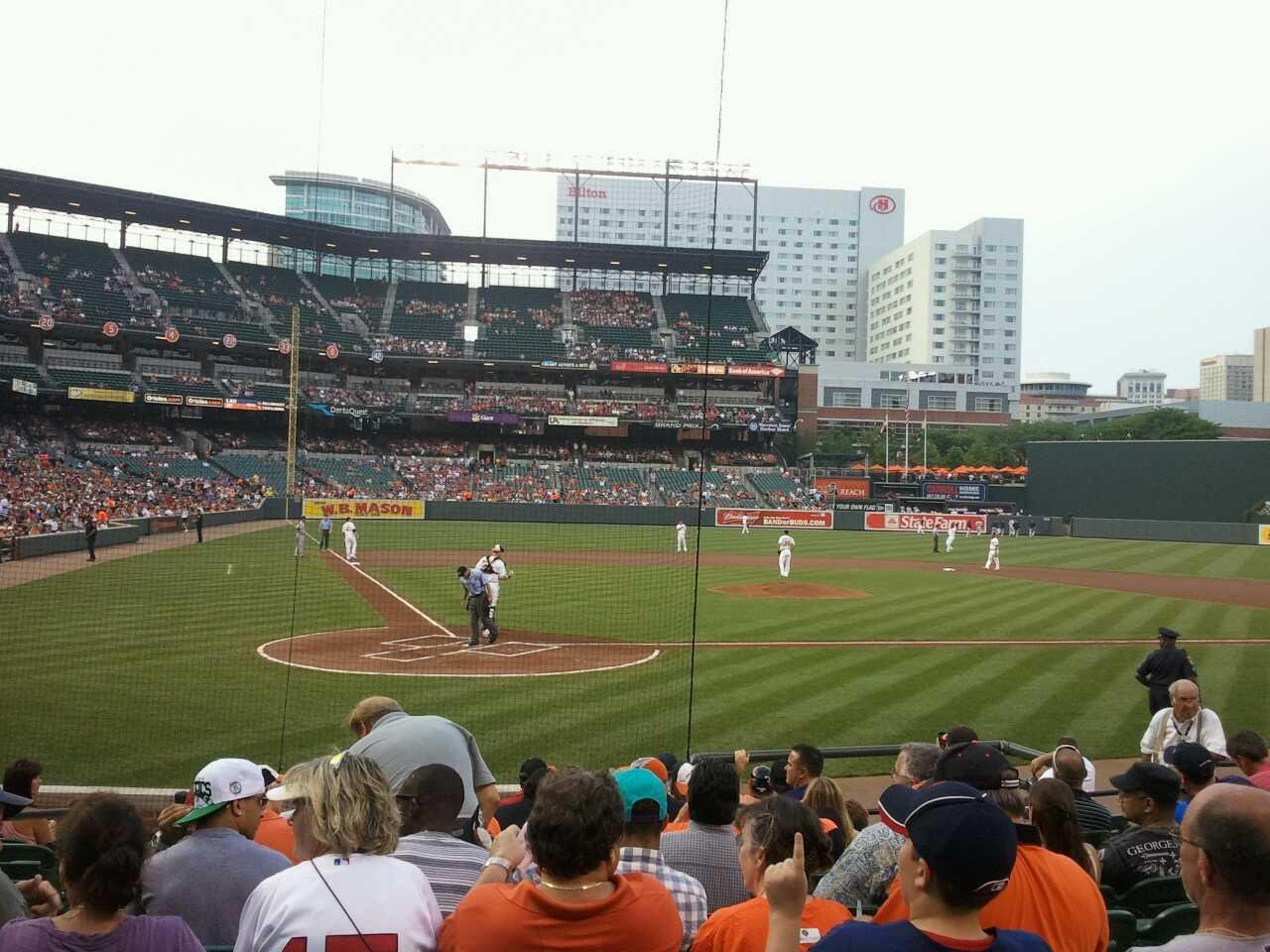 Oriole Park at Camden Yards Section 30 Row 12 Seat 3