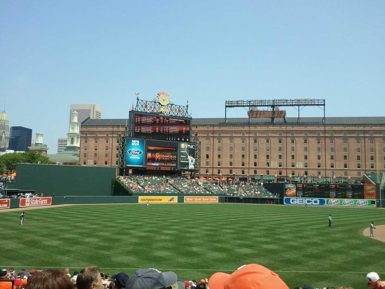 Oriole Park at Camden Yards Section 62 Row 22 Seat 7