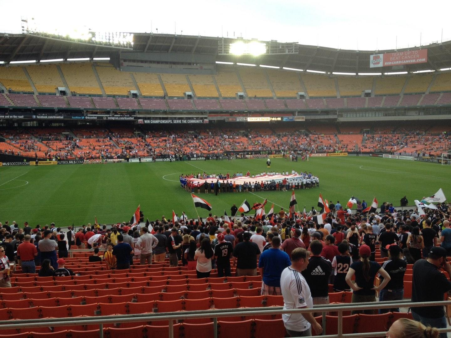 RFK Stadium Section 335 Row 6 Seat 11