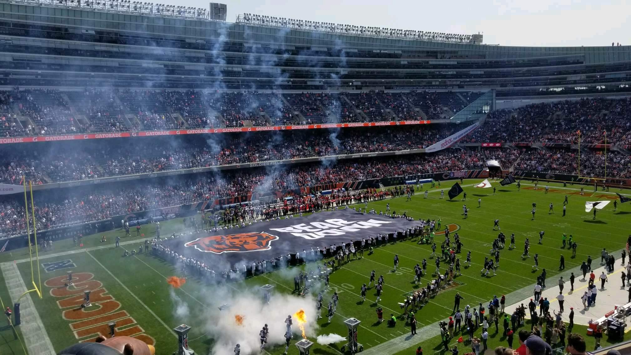Soldier Field Section 343 Row 9