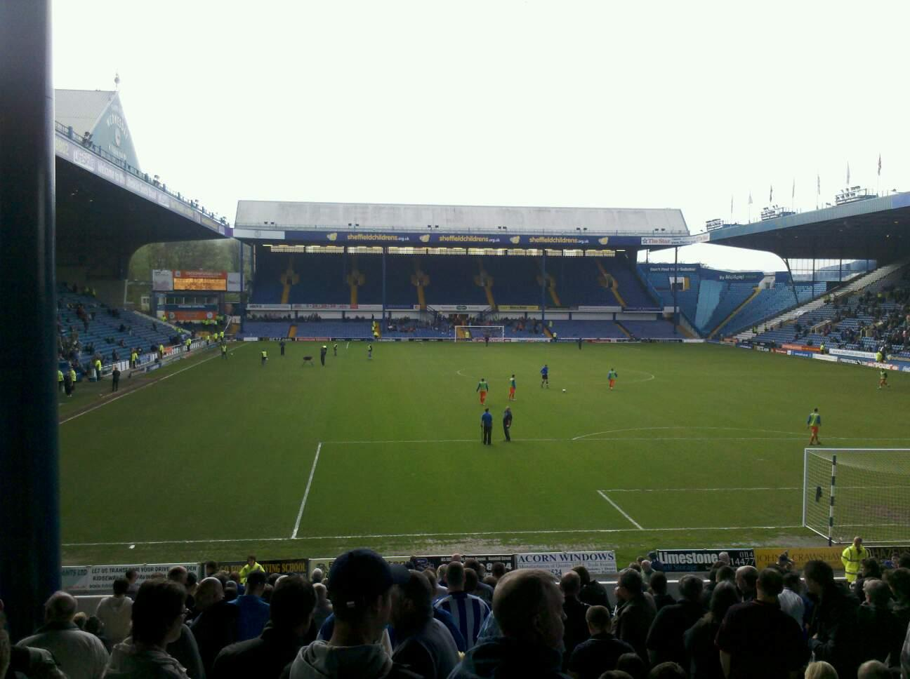 Hillsborough Stadium Section t1 Row 29 Seat 92