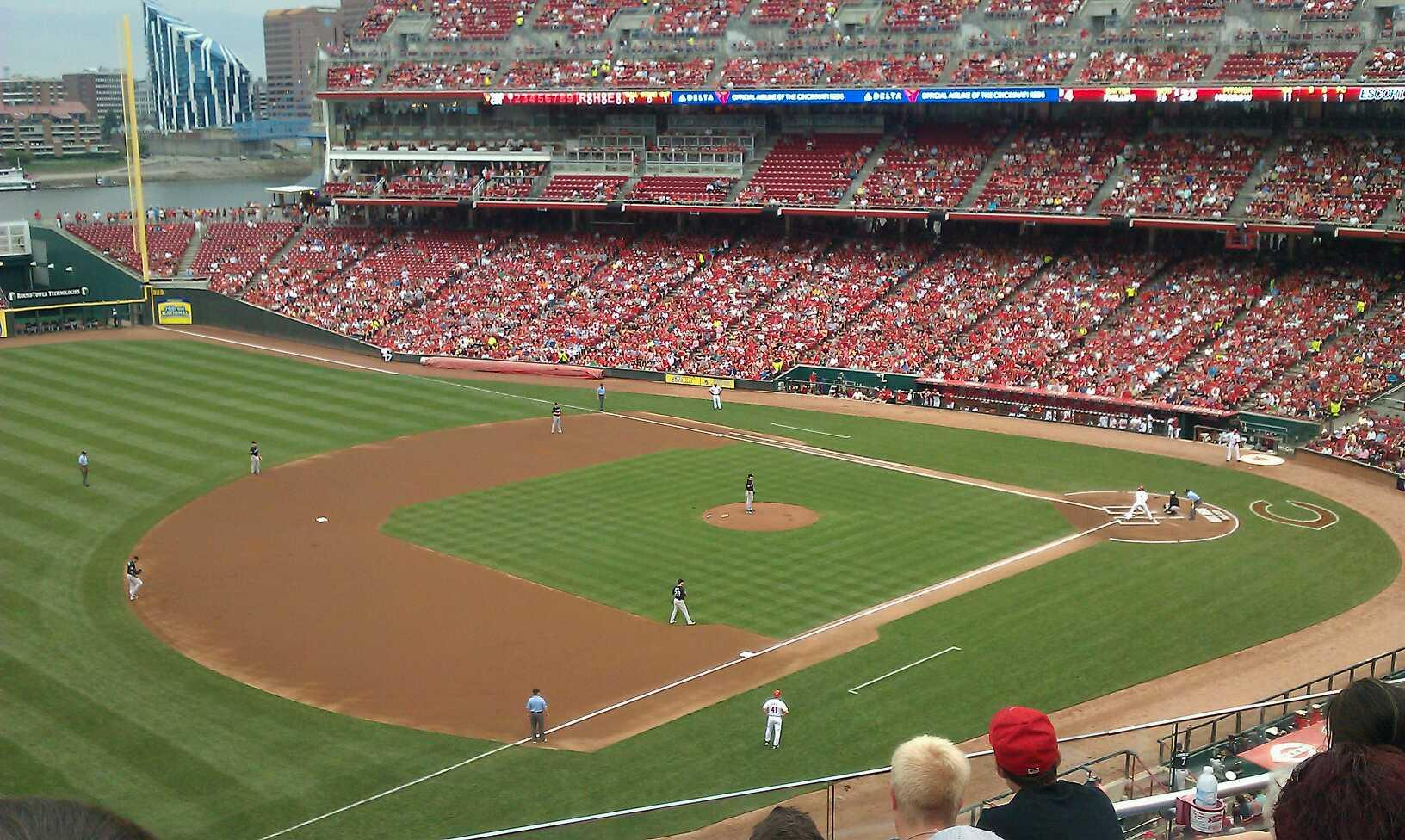 Great American Ball Park Section 414 Row E Seat 24