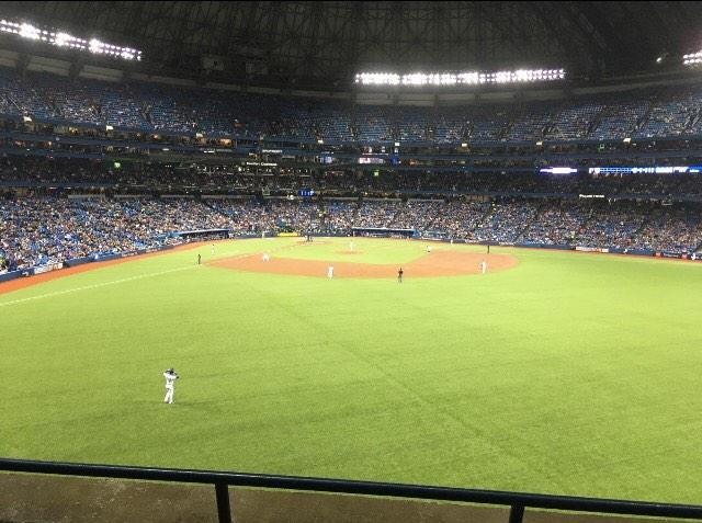 Rogers Centre Section 204L Row 3 Seat 108