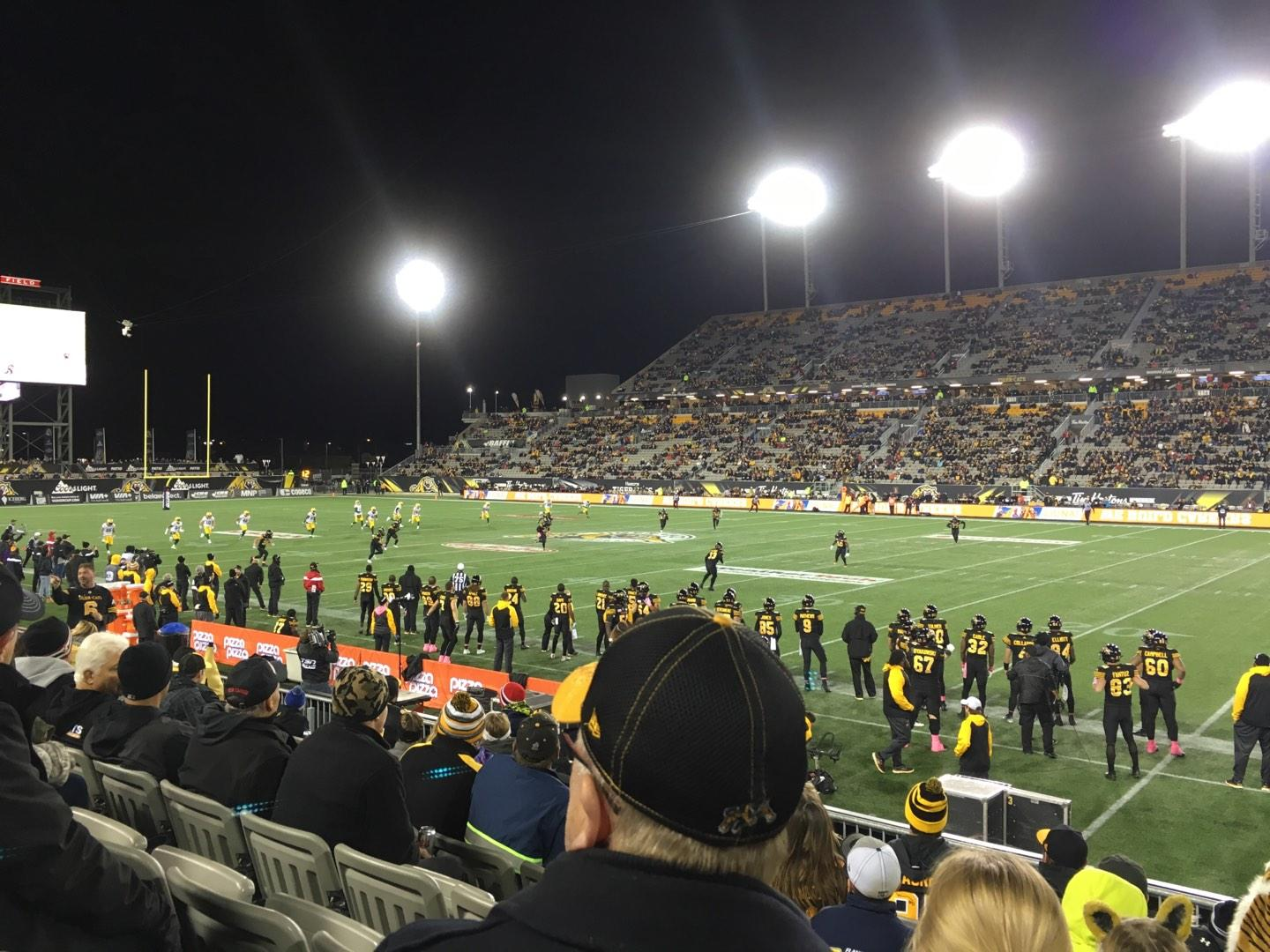 Tim Hortons Field Section 103 Row 8 Seat 23