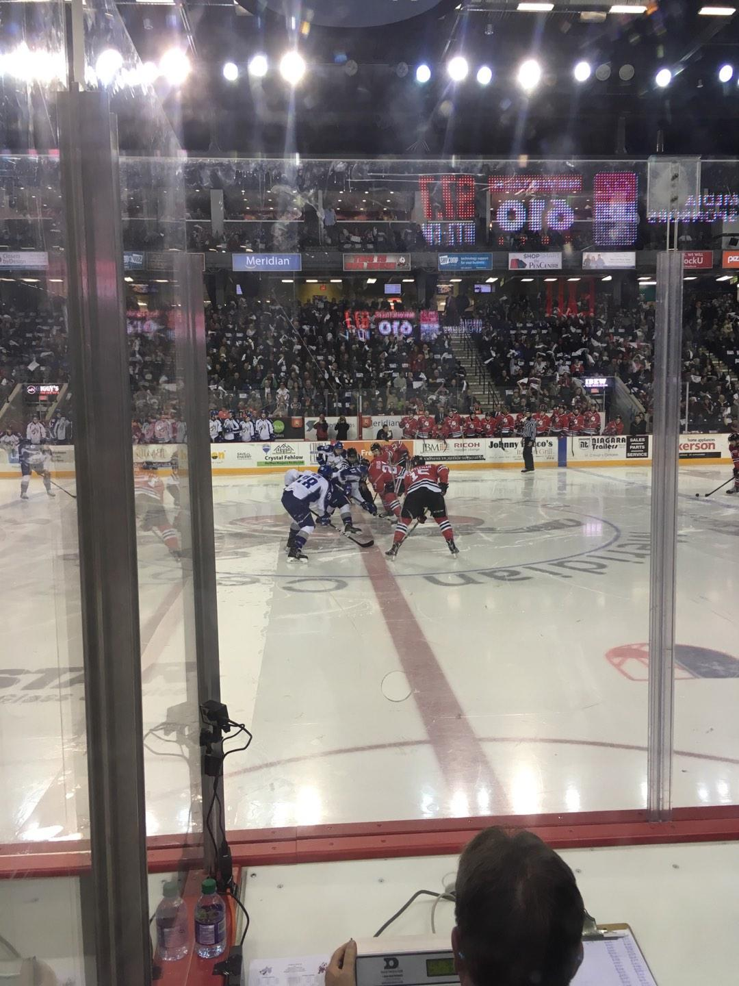 Meridian Centre Section 114 Row C Seat 17