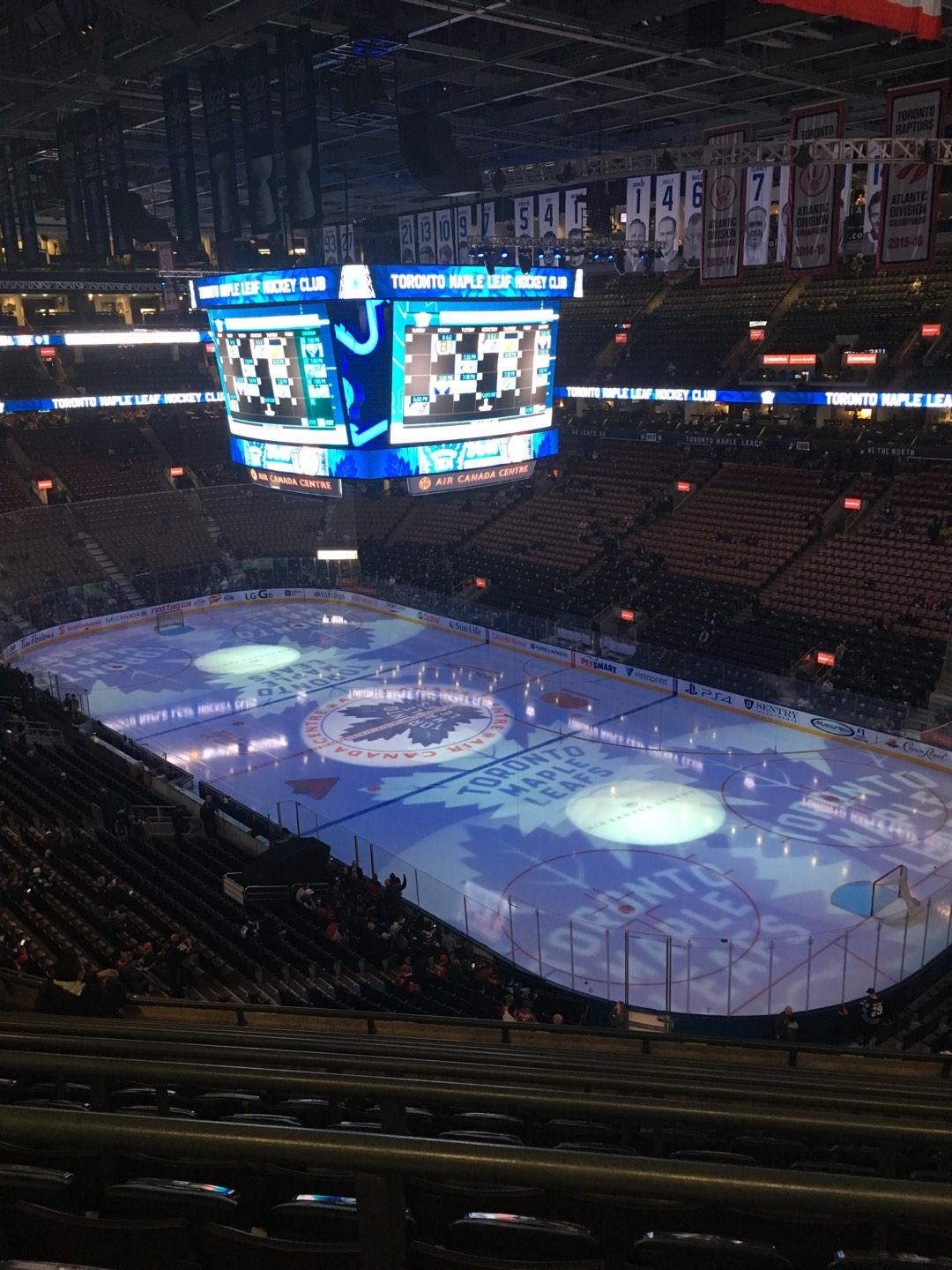 Scotiabank Arena Section 318 Row 8 Seat 10