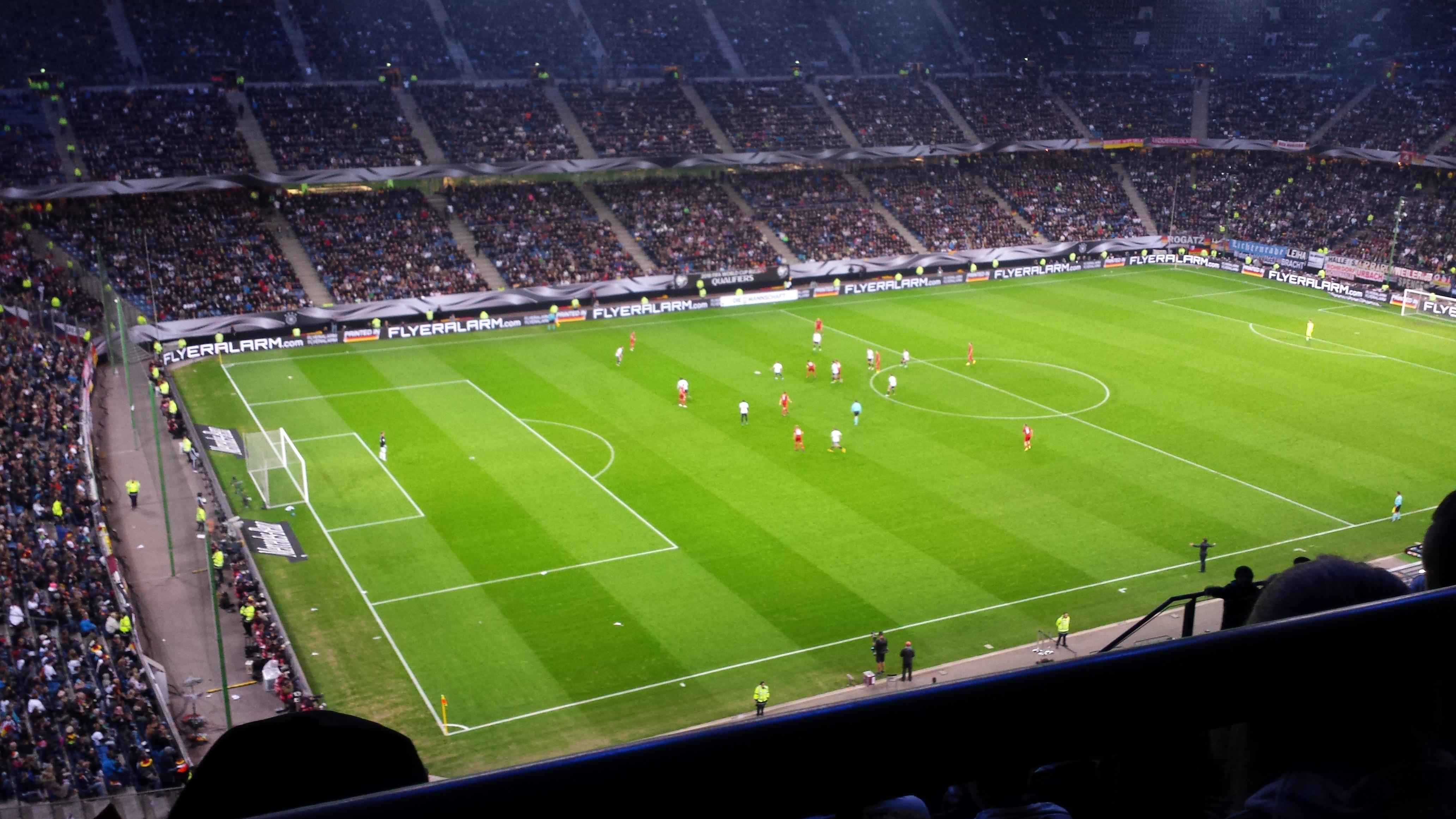 Volksparkstadion Section 7C Row 9 Seat 20