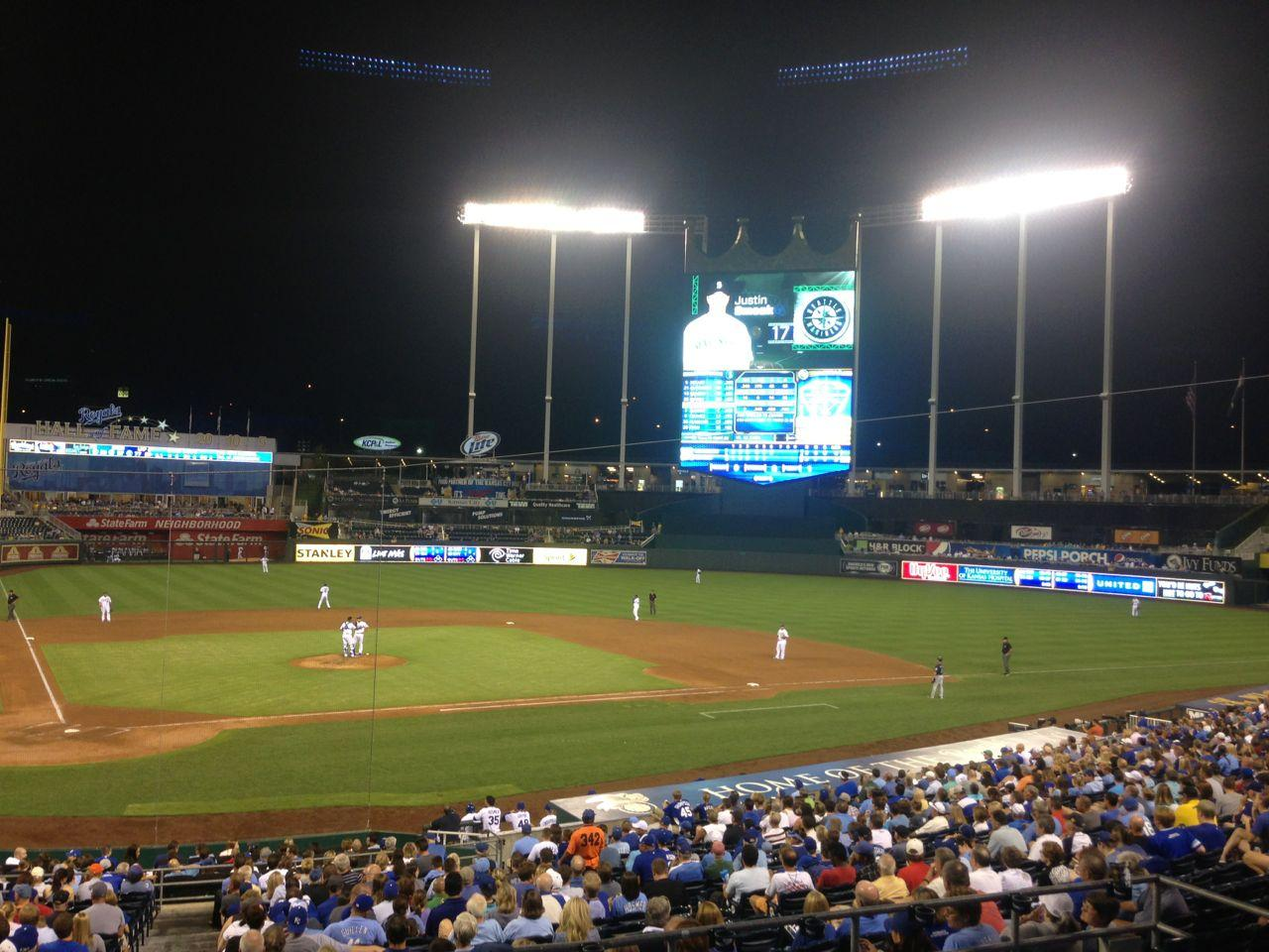 Kauffman Stadium Section 230 - RateYourSeats.com