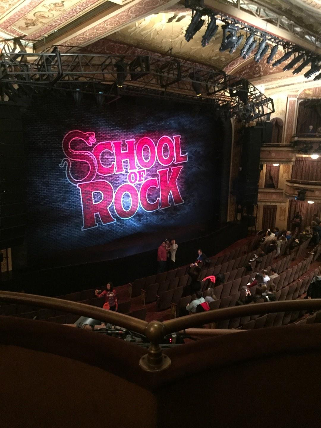 Winter Garden Theatre Section Mezzanine L Row B Seat 1