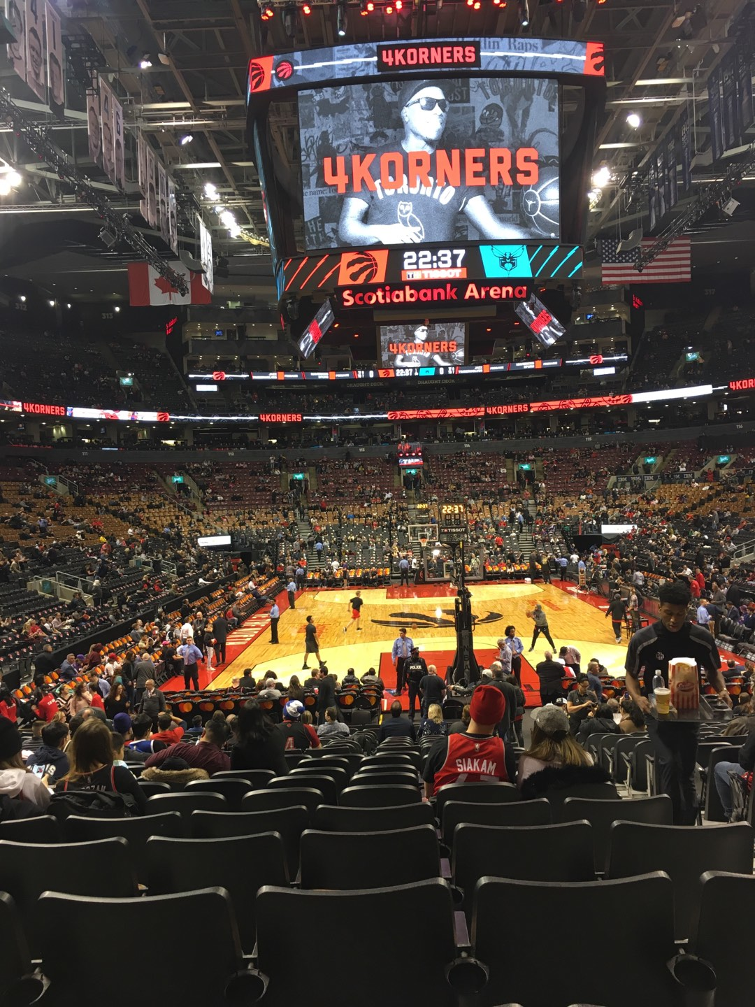 Scotiabank Arena Section 103 Row 15 Seat 3