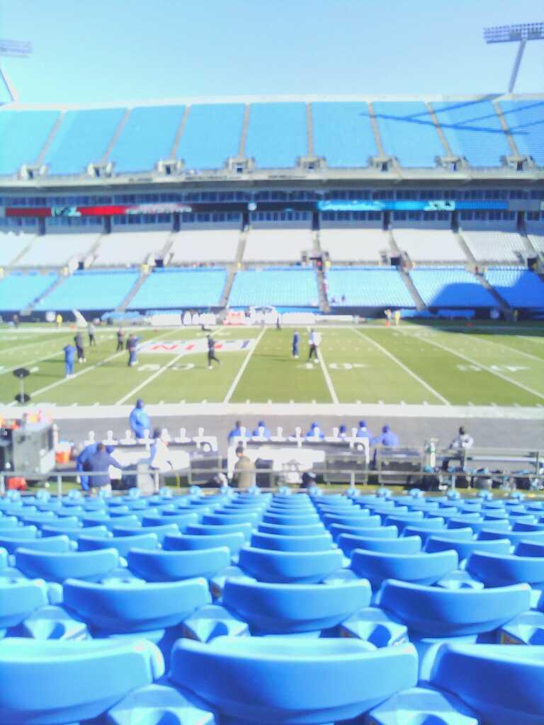 Bank of America Stadium Section 131 Row 11 Seat 17