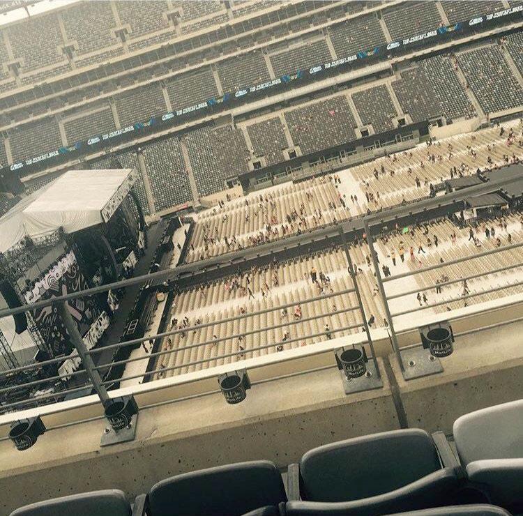 MetLife Stadium Section 339 Row 3 Seat 14