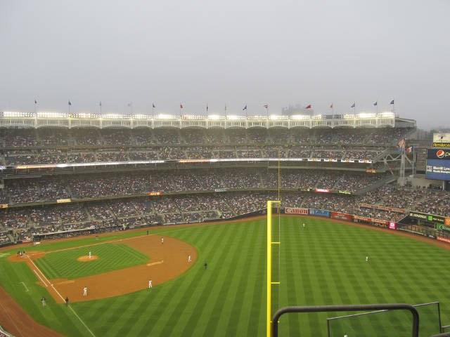 Yankee Stadium Section 413 Row 7 Seat 18