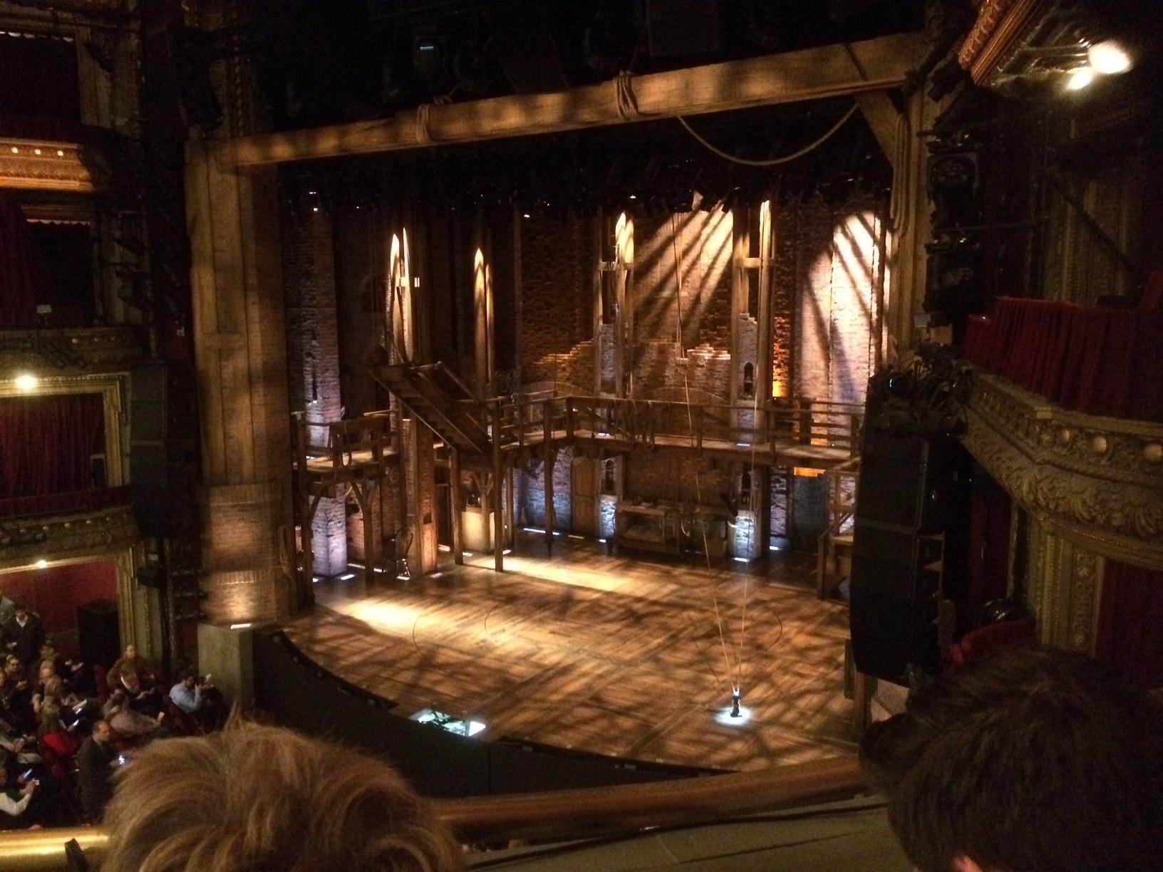 CIBC Theatre Section Mezzanine R Row B Seat 10