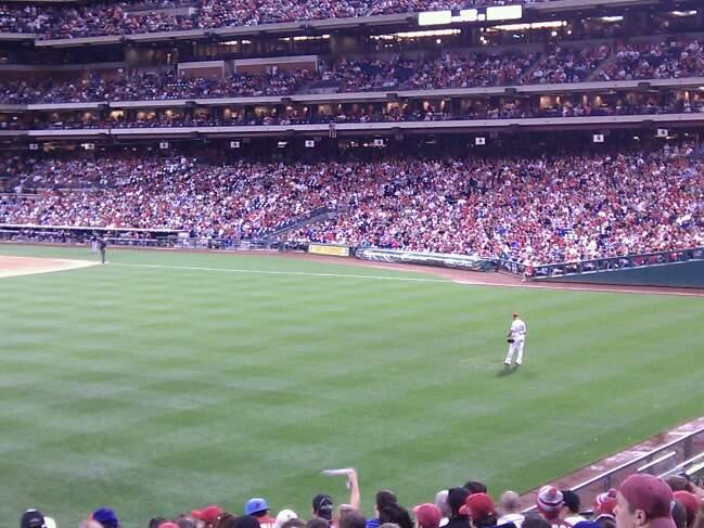 Citizens Bank Park Section 147 Row 18 Seat 12