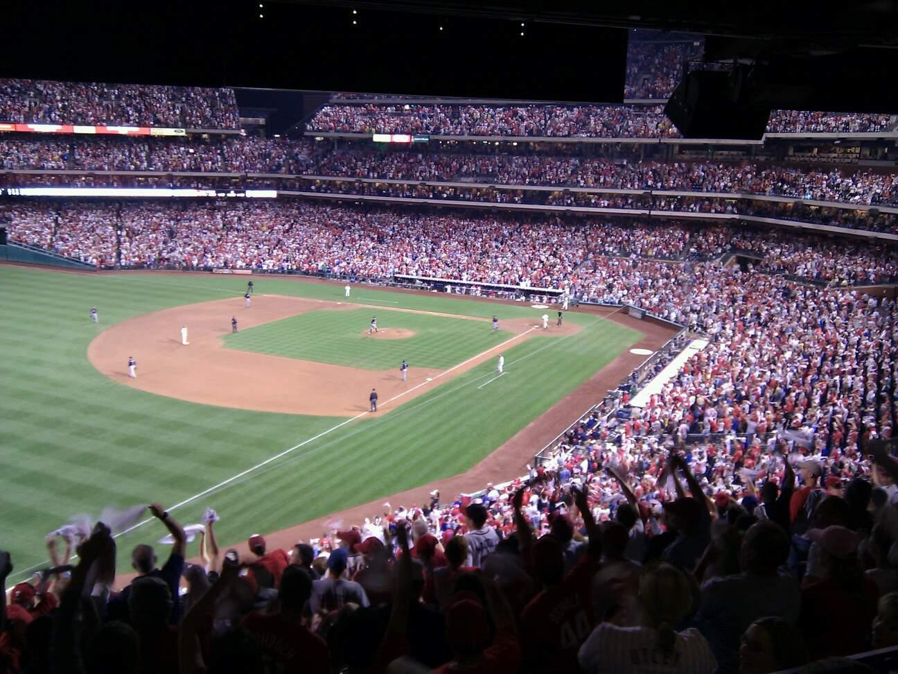 Citizens Bank Park Section Suite 8 Row bar Seat 1
