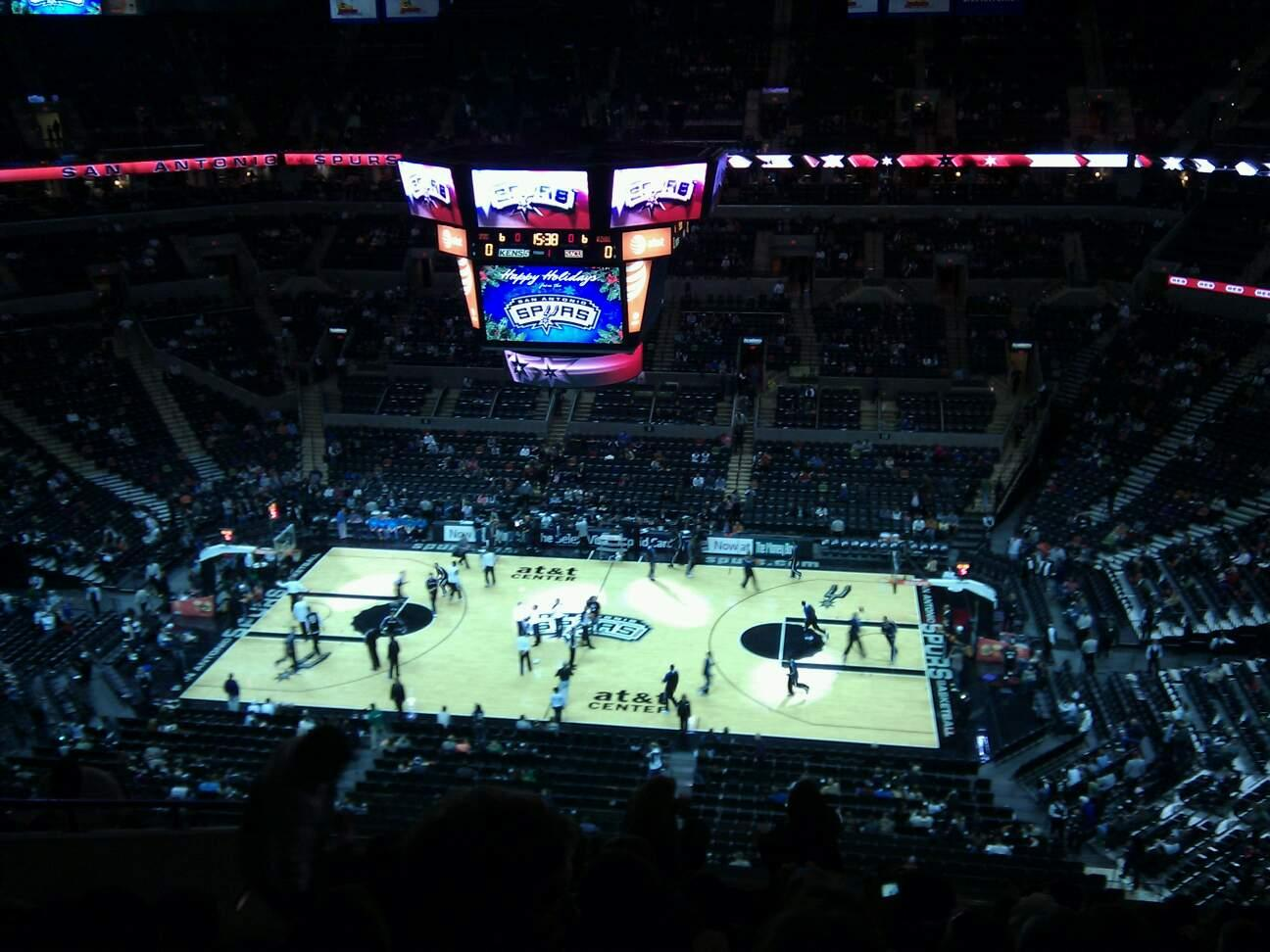 AT&T Center Section 223 Row 11 Seat 13