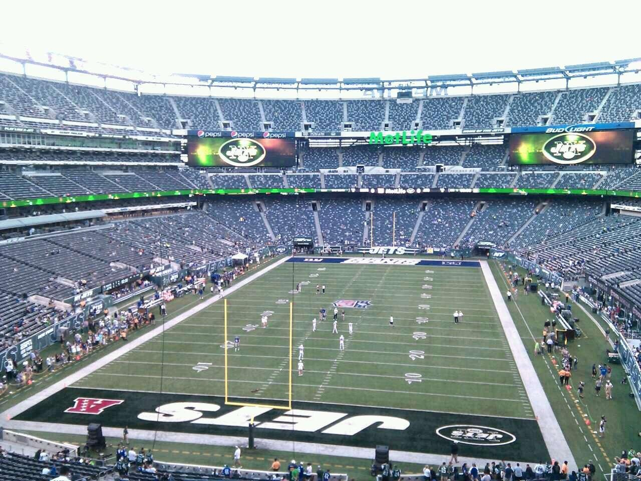 MetLife Stadium Section 224a Row 13 Seat 16