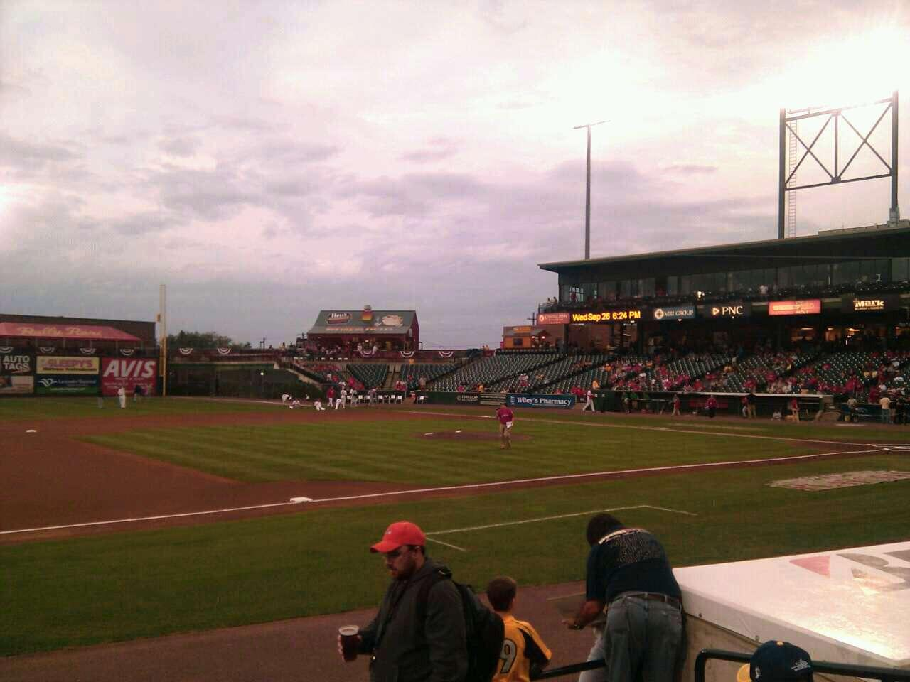 Clipper Magazine Stadium Section 23 Row e Seat 5