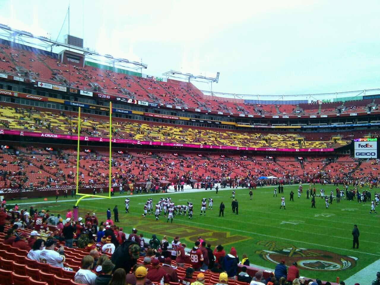 FedEx Field Section 129 Row 19 Seat 10