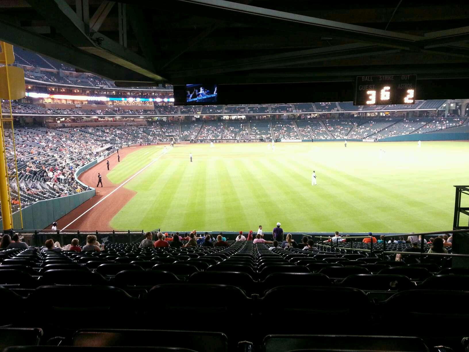 Minute Maid Park section 152 row 25 seat 21 - Houston ...