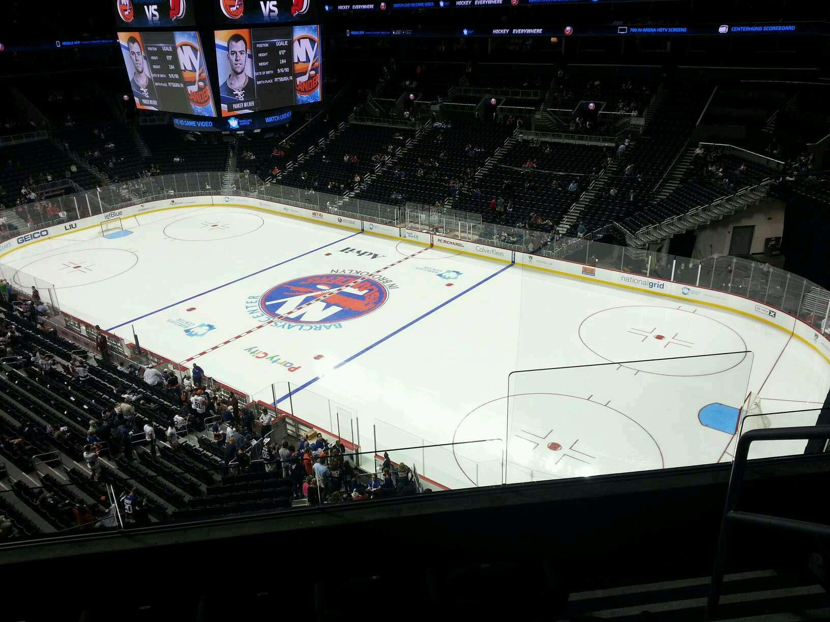 Barclays Center Section 204 New York Islanders