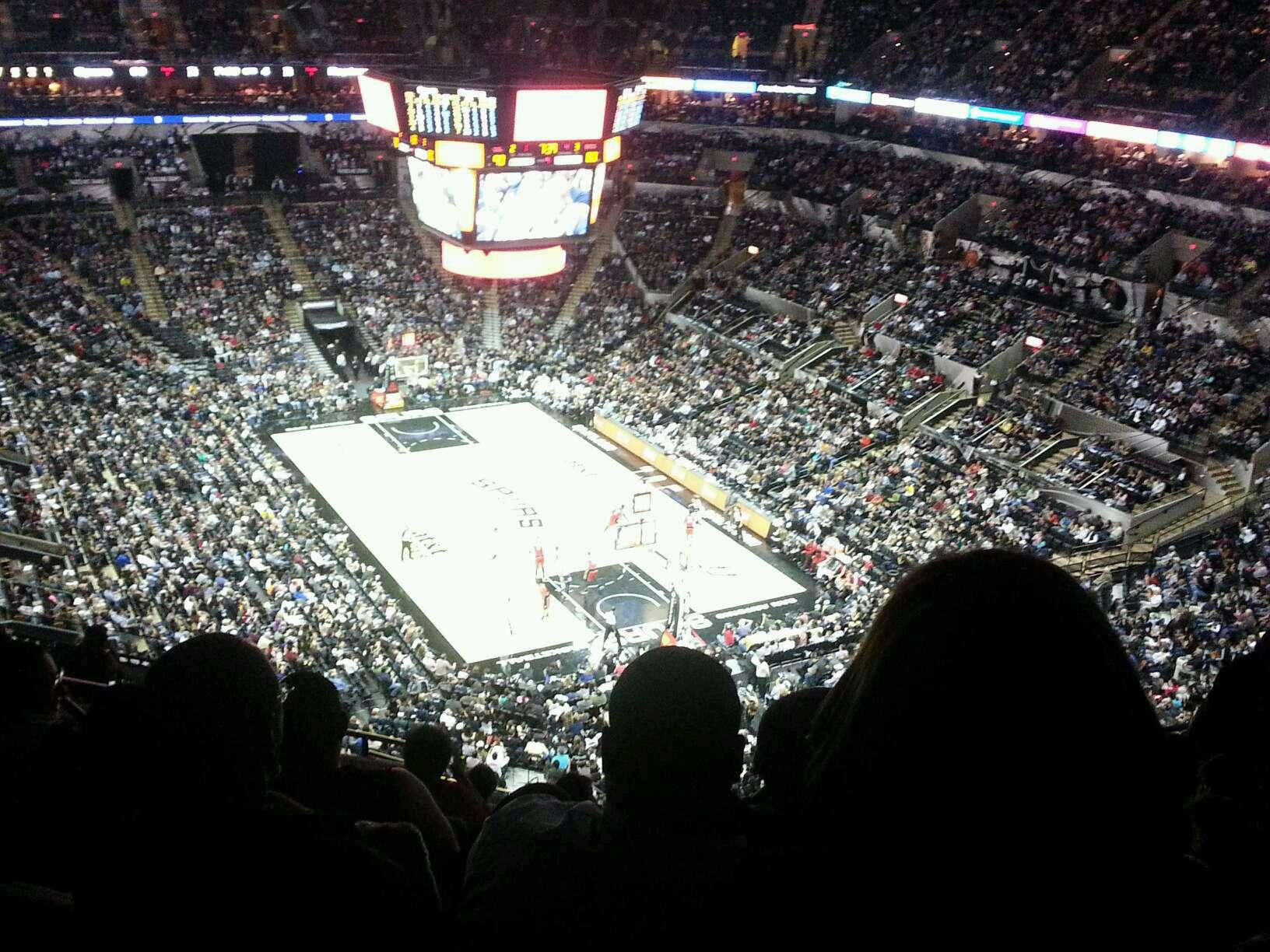 AT&T Center Section 218 Row 13 Seat 13